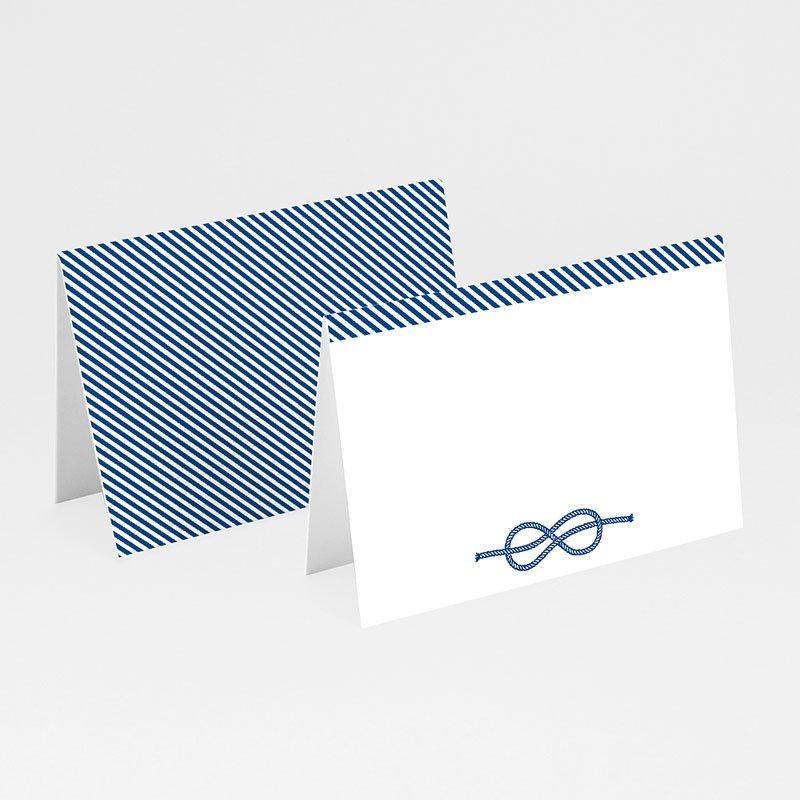 Tischkarten Hochzeit personalisiert Seemannsknoten