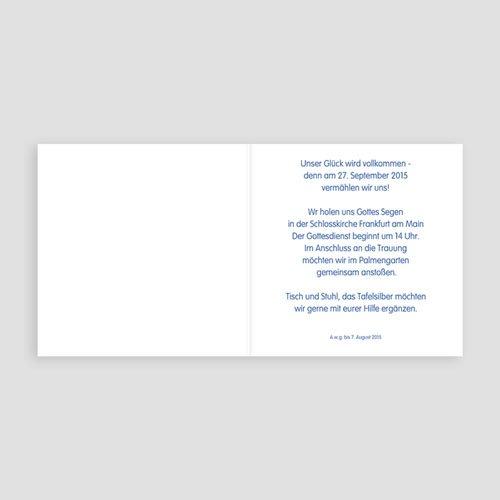 Hochzeitseinladungen modern - Maritimer Stil 24971 preview