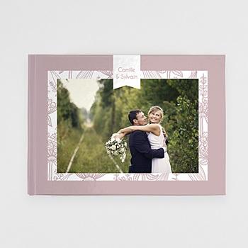 Panorama Fotobücher A4 Querformat - Mariage Royal - 1