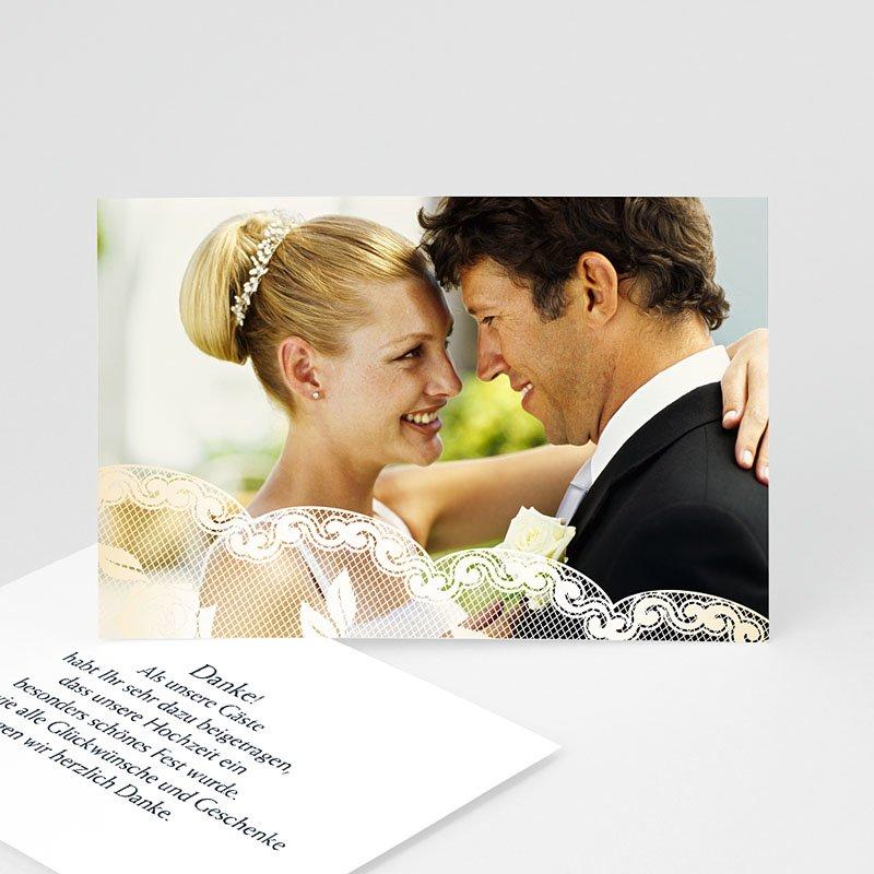 Danksagungskarten Hochzeit  Romantisch