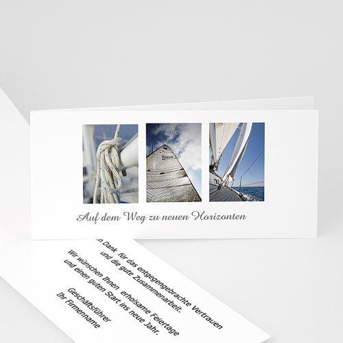 Glückwunschkarten Firmen Glitzerbaum