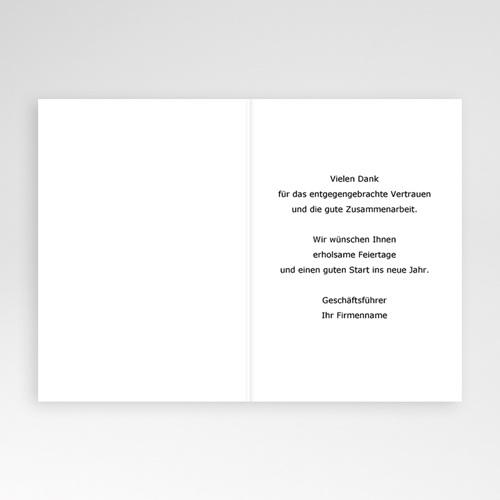 Weihnachtskarten - Schneeflockenzierde 2513 test