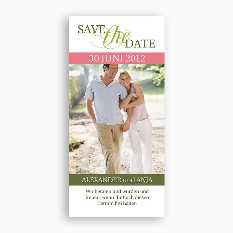 Save The Date Karten Hochzeit Karte Fado