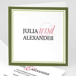 Karten Hochzeit Pessoa