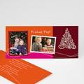 Weihnachtskarten Kerzenschein
