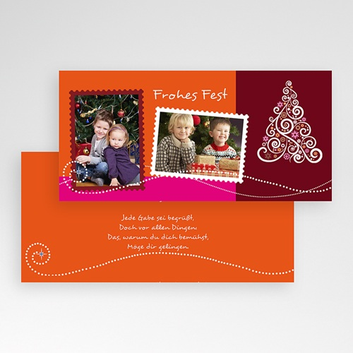 Weihnachtskarten - Kerzenschein 2613 preview
