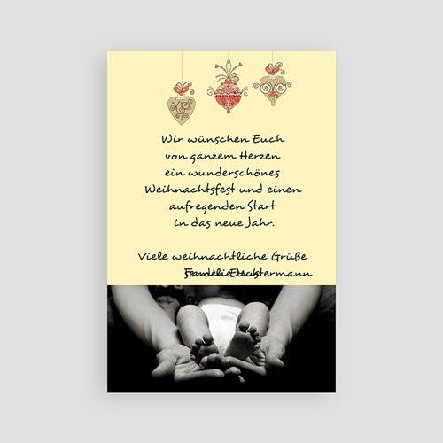 Weihnachtskarten - Frohe Weihnacht 2629 preview