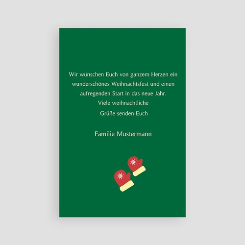 Weihnachtskarten - Wunsch 2633 thumb
