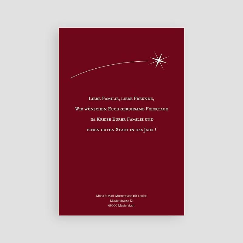 Weihnachtskarten Bescherung pas cher