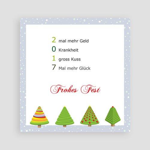 Weihnachtskarten - Weihnachtstanne 2641 preview