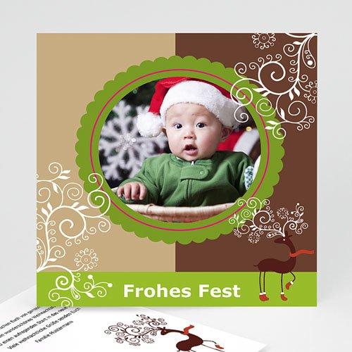 Weihnachtskarten - Retro 2644