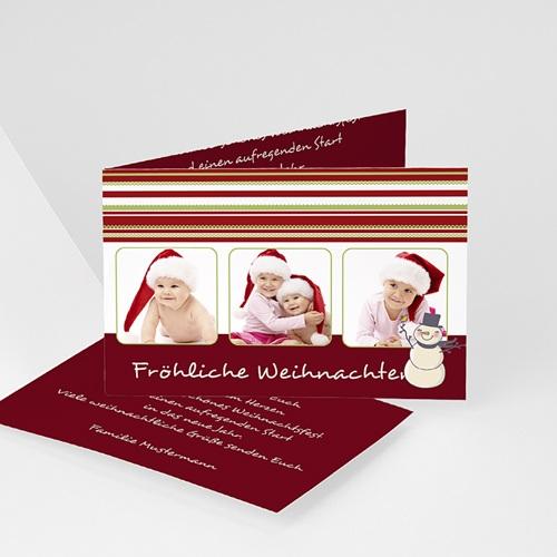 Weihnachtskarten - Es weihnachtet sehr 2672