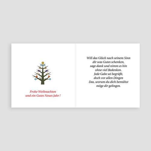 Weihnachtskarten - Geschenke 2681 preview