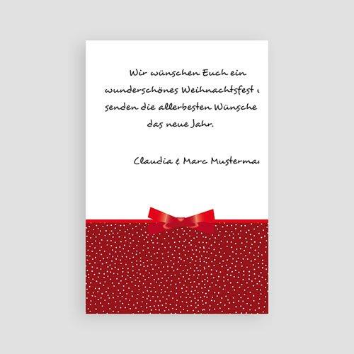 Weihnachtskarten - Dekoration 2693 test