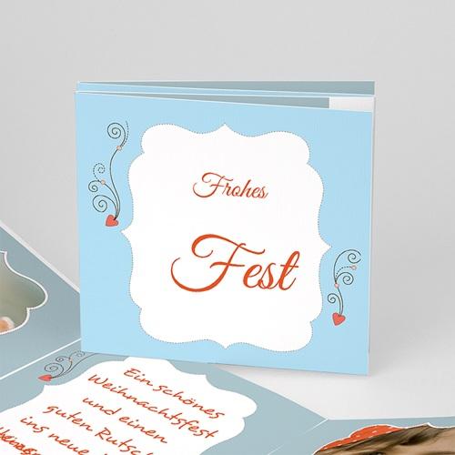 Weihnachtskarten - Weihnachtskarte Frohes Fest 2712