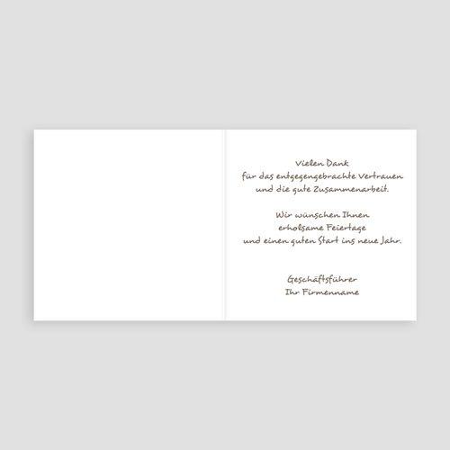 Weihnachtskarten - Weinrot 2731 test