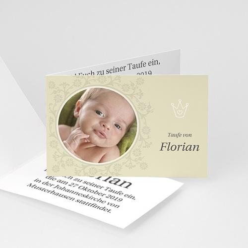 Einladungskarten Taufe Mädchen - Antoine 2742