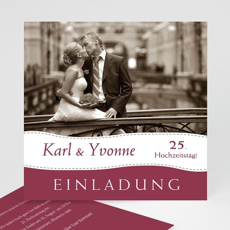 Hochzeit Einladungskarten Geburtstag Wellenförmig