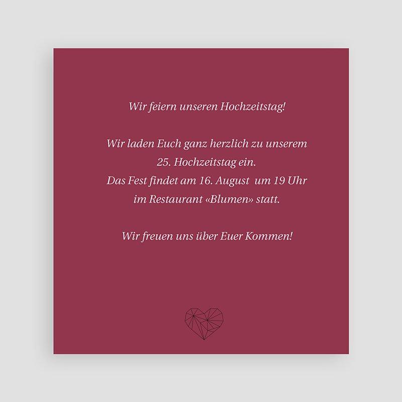 Hochzeit Einladungskarten Geburtstag Wellenförmig pas cher
