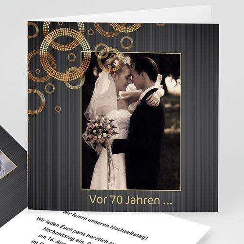 Silberhochzeit und goldene Hochzeit  Kreise