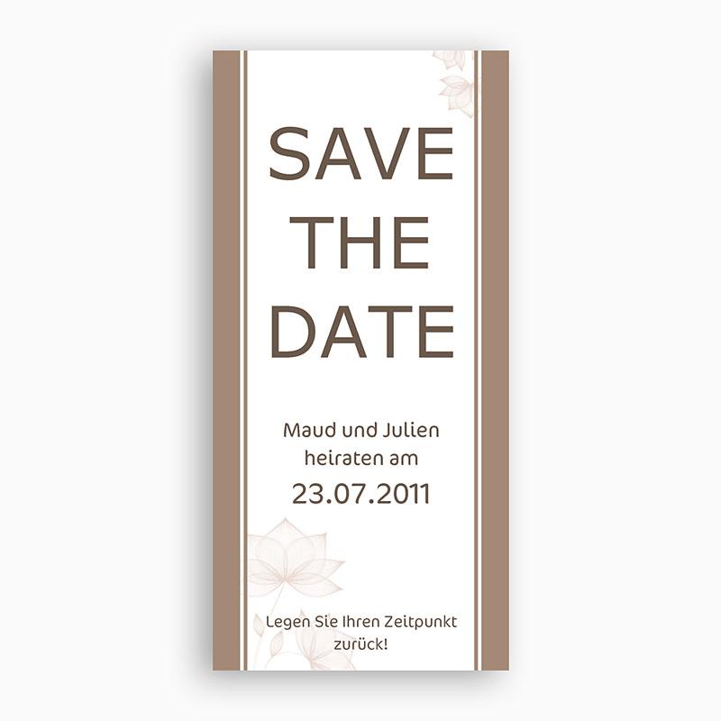Save The Date Karten Hochzeit Marseille