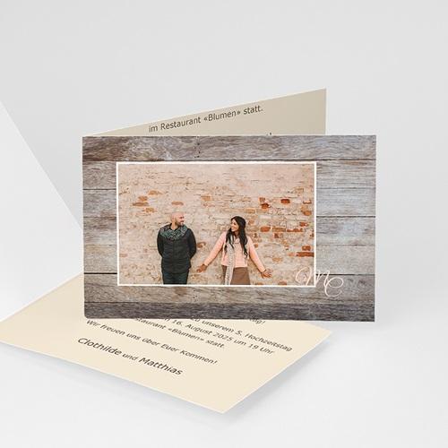 Silberhochzeit und goldene Hochzeit  - Herz 2782