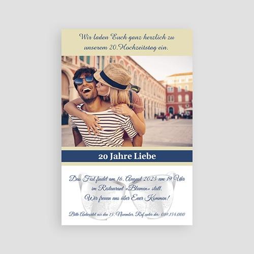 Hochzeit Einladungskarten Geburtstag Silberhochzeit