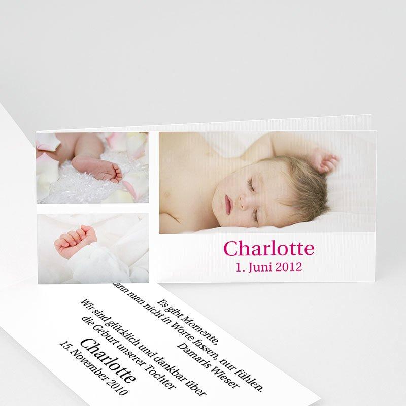 Geburtskarten für Mädchen 3 Fotos