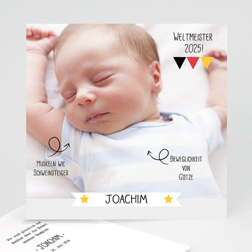 Lustige Geburtskarten - Weltmeister 29006