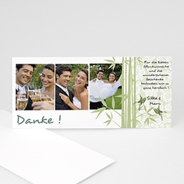 Danksagungskarten Hochzeit  Yichang