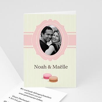 Hochzeitseinladungen Gourmand - Hochzeitskarte - 1