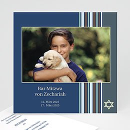 Karten Bar Mitzvah Fotoreihe