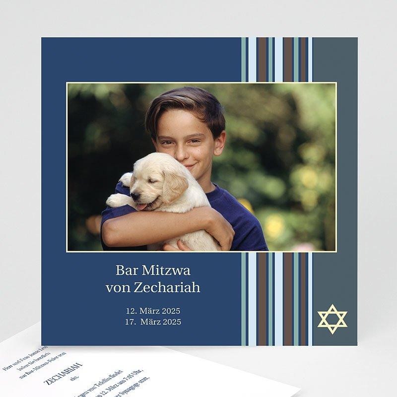 Bar Mitzwah Einladung - Fotoreihe 3100 thumb