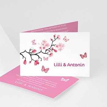 Einladungskarten Hochzeit  - Blumen der Liebe - 1