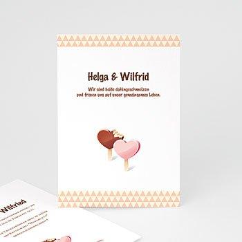 Einladungskarten Hochzeit  - Hochzeitskarte - 1