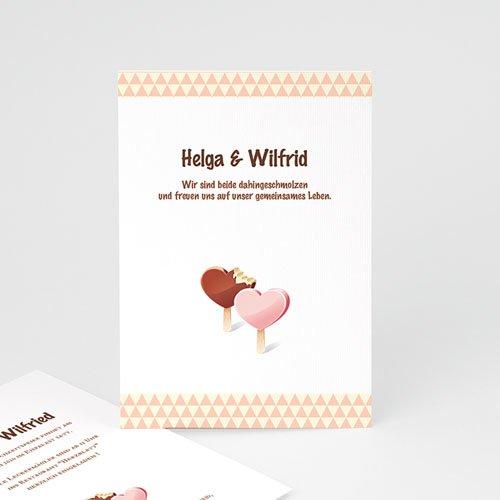 Einladungskarten Hochzeit  - Eis 3124 test