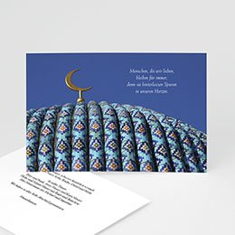 Kartenmodell für eine Gedenkfeier - 1