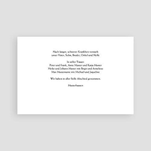 Trauer Danksagung muslimisch - Beileid 3129 test