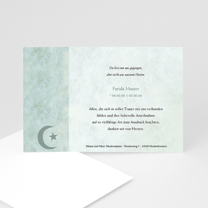 Muslimisch Dankeskarten Trauer Yasin Foto