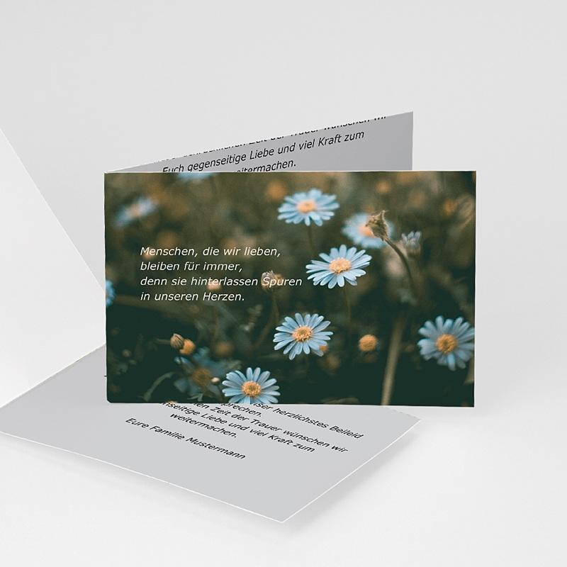 Weltlich Dankeskarten Trauer Beileidsbekundung Armin