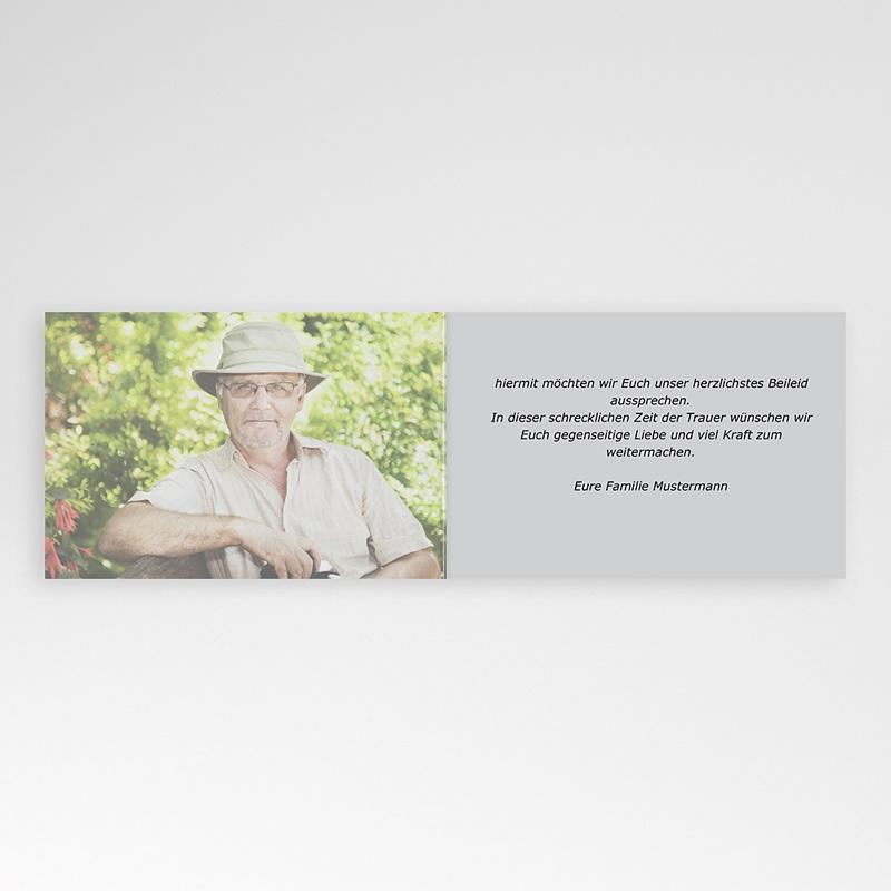 Weltlich Dankeskarten Trauer Beileidsbekundung Armin pas cher