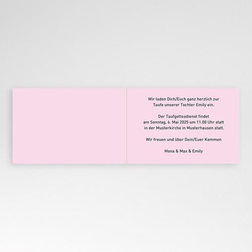 Einladungskarten Taufe Jungen  - Max 3341 test