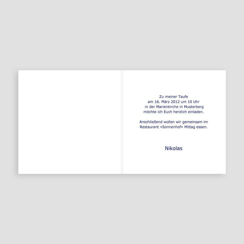Einladungskarten Taufe für Jungen Jesper pas cher