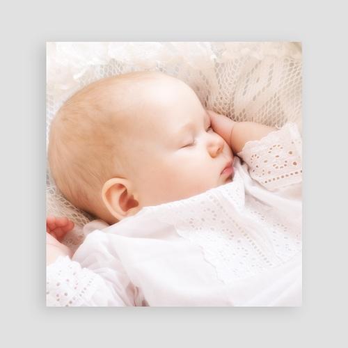 Einladungskarten Taufe für Mädchen Eve pas cher