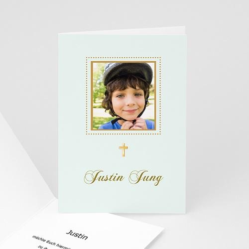 Einladungskarten Kommunion Jungen - Biblisch 3424 test