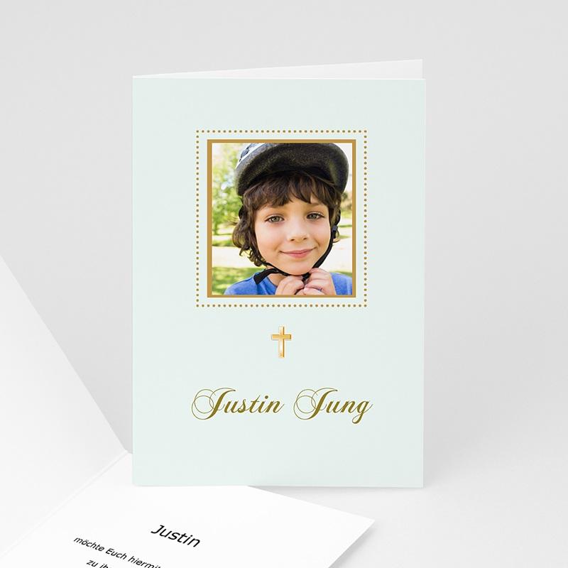 Einladungskarten Kommunion fur Jungen Biblisch