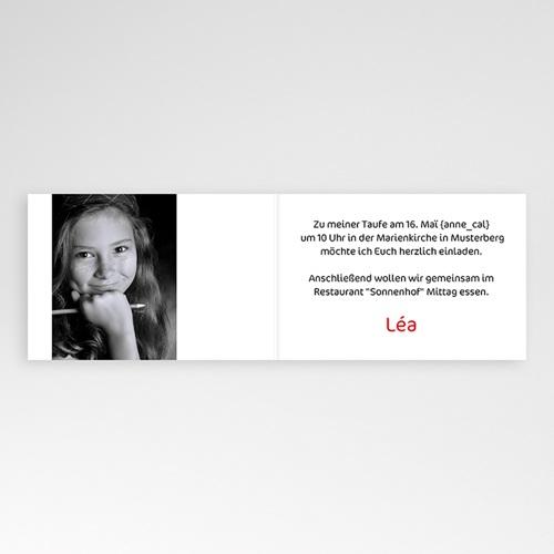 Einladungskarten Kommunion Mädchen - Farbenfroh 3445 test