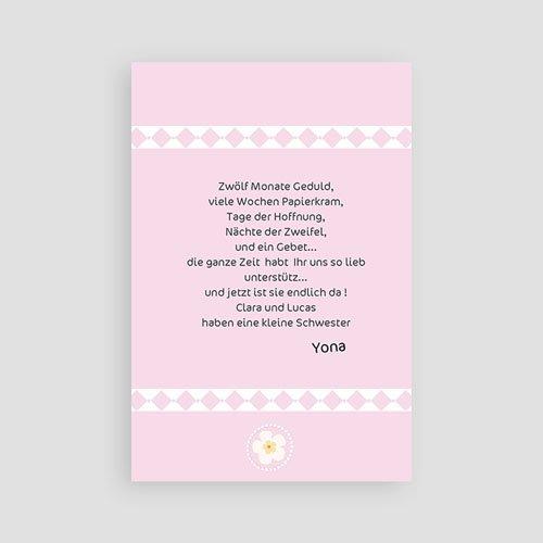 Geburtskarten für Mädchen Liebe pas cher