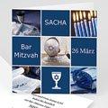 Einladungskarten Bar Mitzwah Sasha