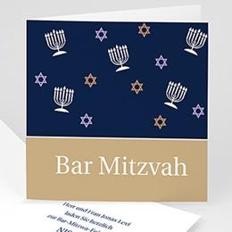 Bar Mitzwah Einladung Samuel